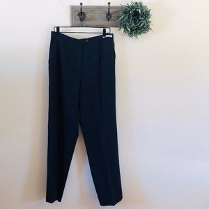 NWT Pendleton Navy Wool Trousers 14